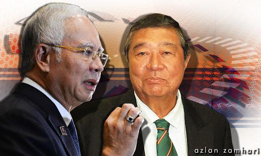Najib!.. Ling Liong Sik Tanya Kenapa Tak Saman Dia Lagi Ni?