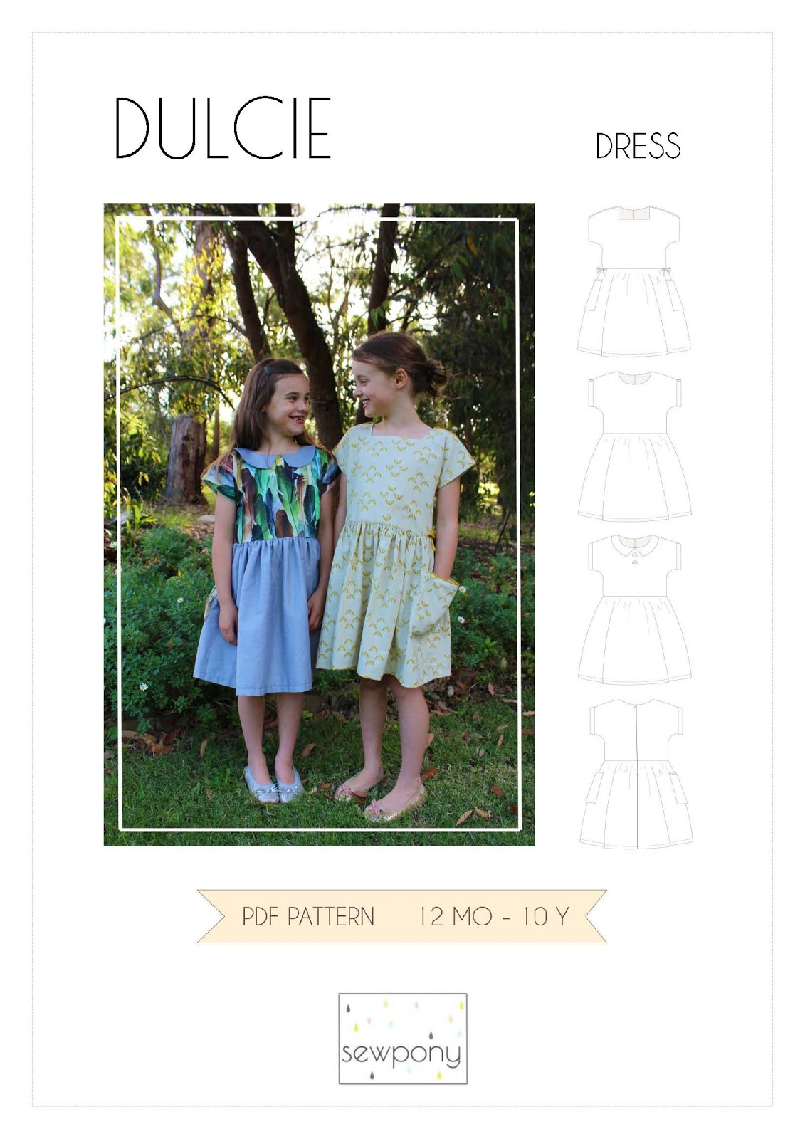 FREE DULCIE DRESS PATTERN