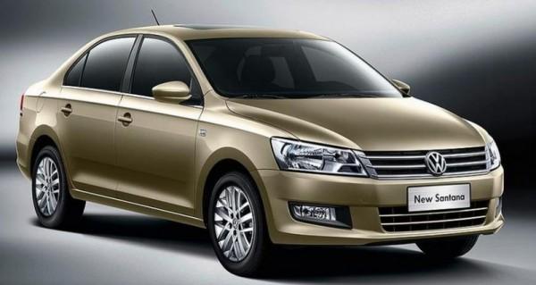 Fotos Oficiales del nuevo VW Santana 2013
