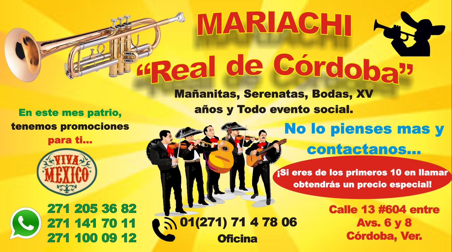 """Mariachi """"Real de Cordoba"""""""