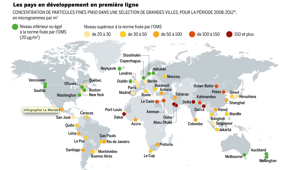 Villes Les Plus Polluees France
