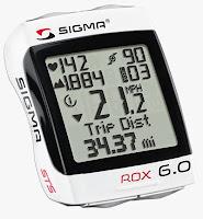 licznik rowerowy Sigma Sport ROX 6.0