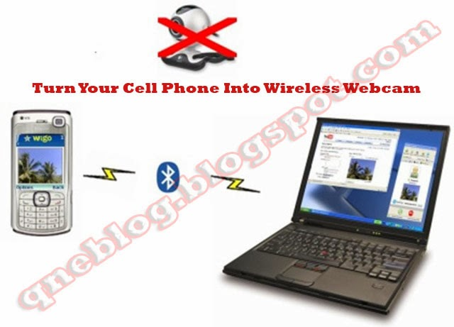 Use Your Cell Phone As a Wireless WebCam