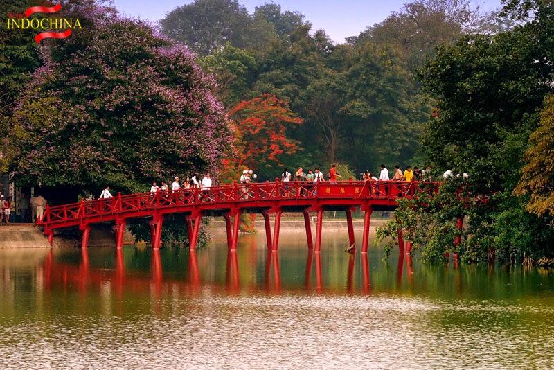 Lago Hoan Kiem-Hanoi