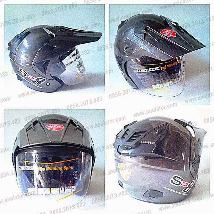 Helm Cross 3/4 Dark
