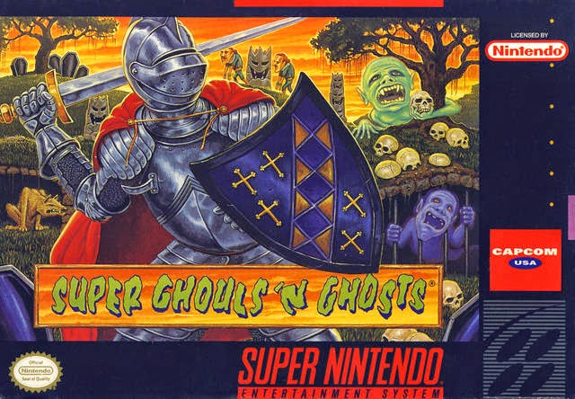 If you're a masochist, then you'll love the torture of SUPER GHOULS N GHOSTS