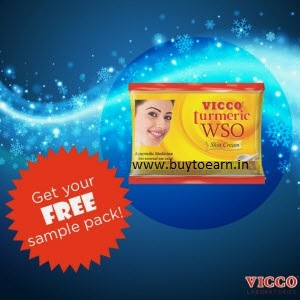 Free VICCO Turmeric WSO Skin Cream Sample for UP