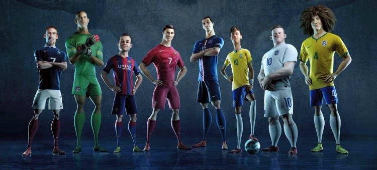 Nike World Cup 2014 ad