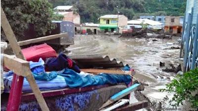avalancha en el departamento de Antioquia