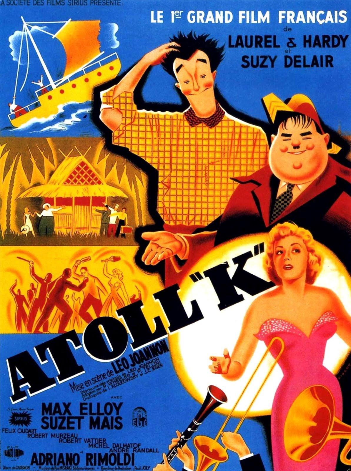 "Atoll ""K"" (1950) Léo Joannon / John Berry , Alfred J. Goulding , Tim Whelan - Atoll ""K"""