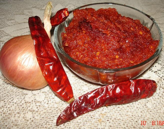 Red Onion Chutney Recipe — Dishmaps