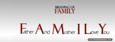 What is the Meaning of  Family Facebook Timeline Cover