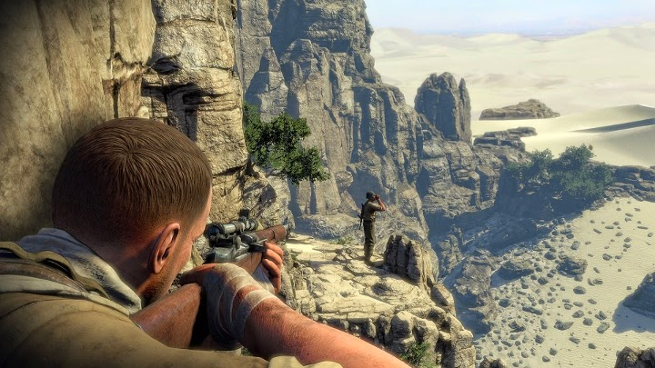 videojuego sniper shooter guerra