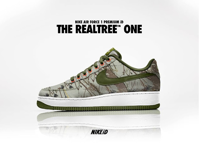 Nike Air Force 1 ID Premium - The Realtree