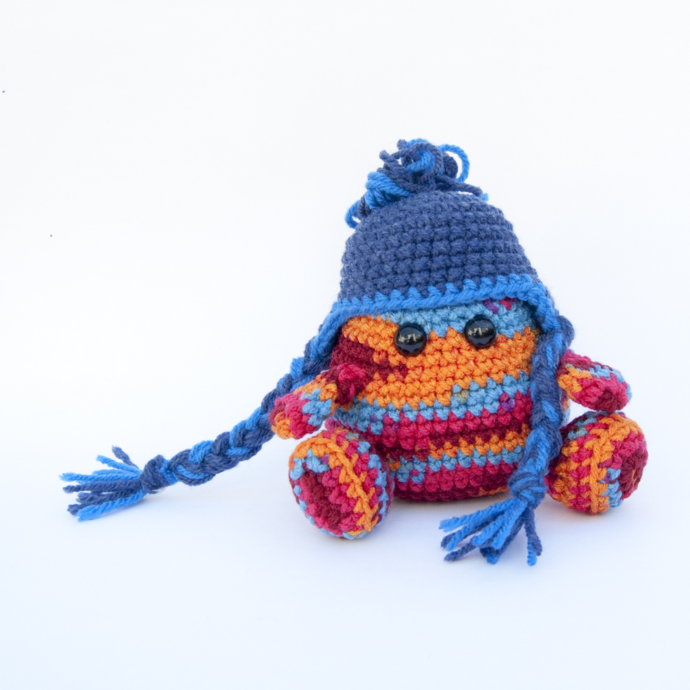 The Itsy Bitsy Spider Crochet: Crochet Ear Flap Hat