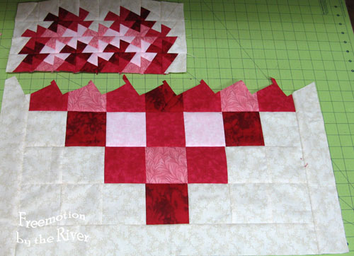 piece shrinks in size after cutting and piecing