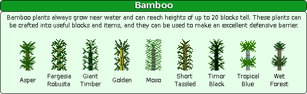 Plant Mega Pack Mod bamboo
