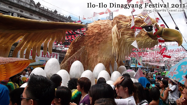 giant eagle - iloilo dinagyang festival