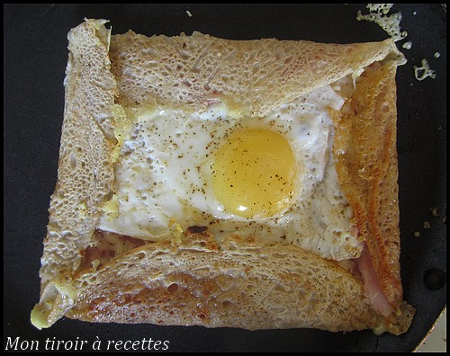 Galette de sarrasin jambon fromage