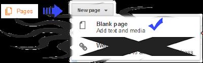 Instal kode di Page