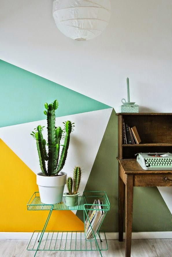 Grafik – neuster Trend in der Wandgestaltung: Streichen der ...