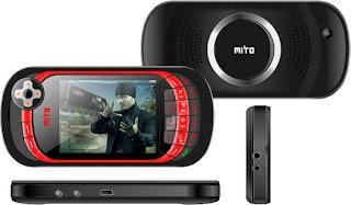harga Mito 868 ponsel game layar sentuh murah