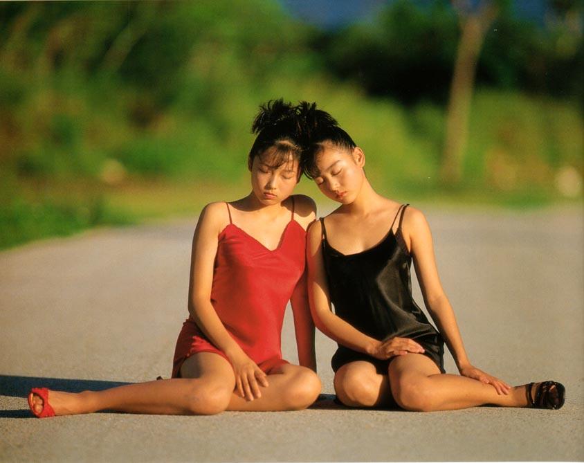 yoko mitsuya and saori nara stripping japanese teens 05