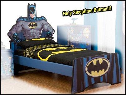 batman super hero single bed