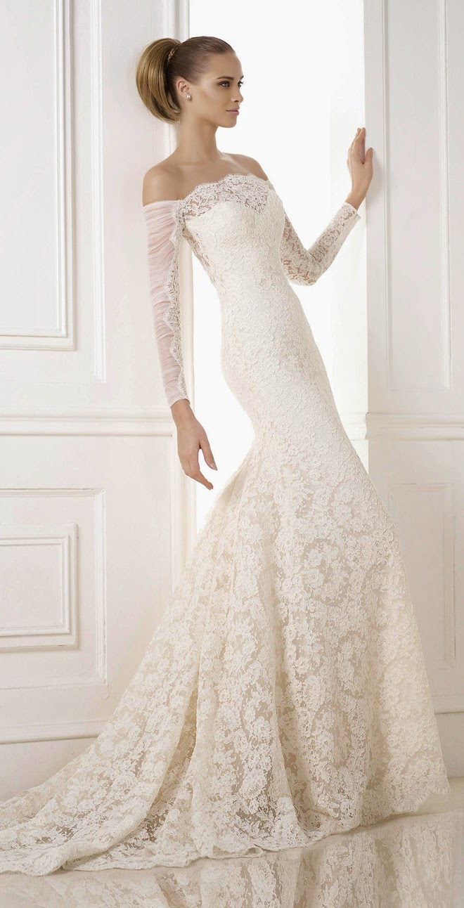 Pronovias 2015 bridal collections part 1 belle the magazine dreams if you dream of a romantic look for your wedding day scroll down and find the dress of your dreams ombrellifo Image collections