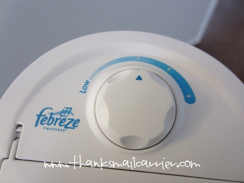 Honeywell fan with febreze