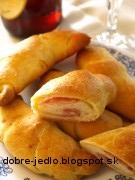 Šunkové rožky - recept
