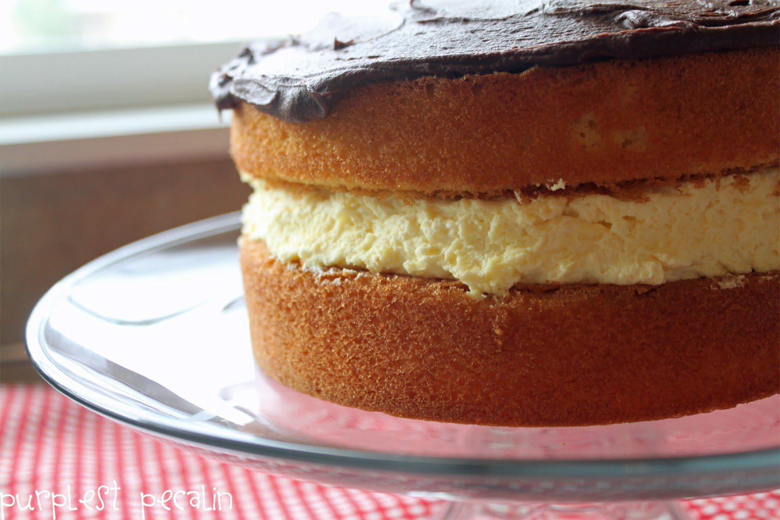Next time, I'm going to make cute little Boston Cream Pie Cupcakes ...