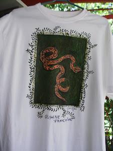 Tee-shirt Serpent