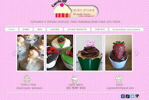 *** Novo: Site Cupcake BH
