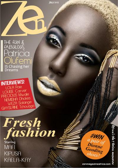 Nigerian Patricia Olufemi Covers Zen Magazine