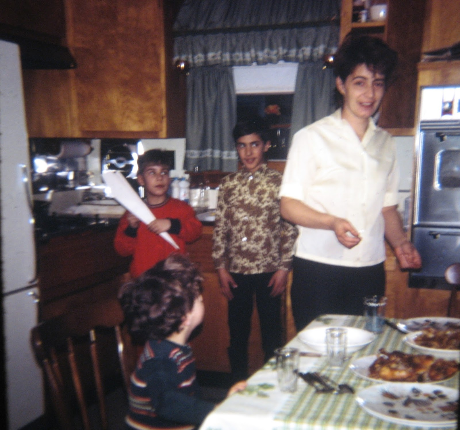 3 Mondello boys and our incredible mom April 1968