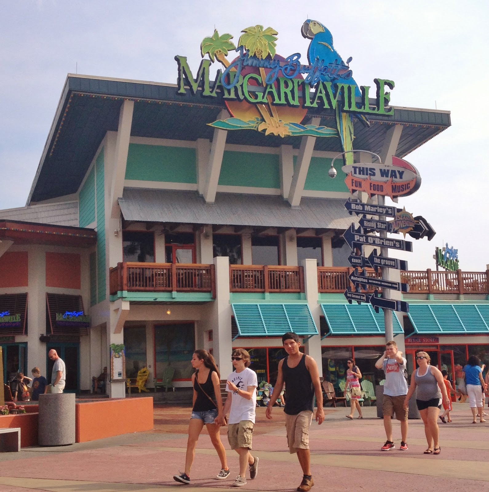 Jimmy Buffett S Margaritaville Orlando Review