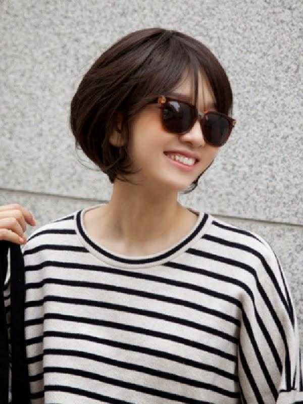 Trend Rambut Pendek Wanita Korea 2016  newhairstylesformen2014.com