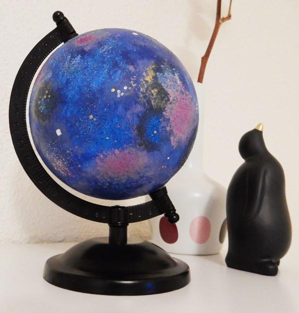 DIY : Globe galaxie
