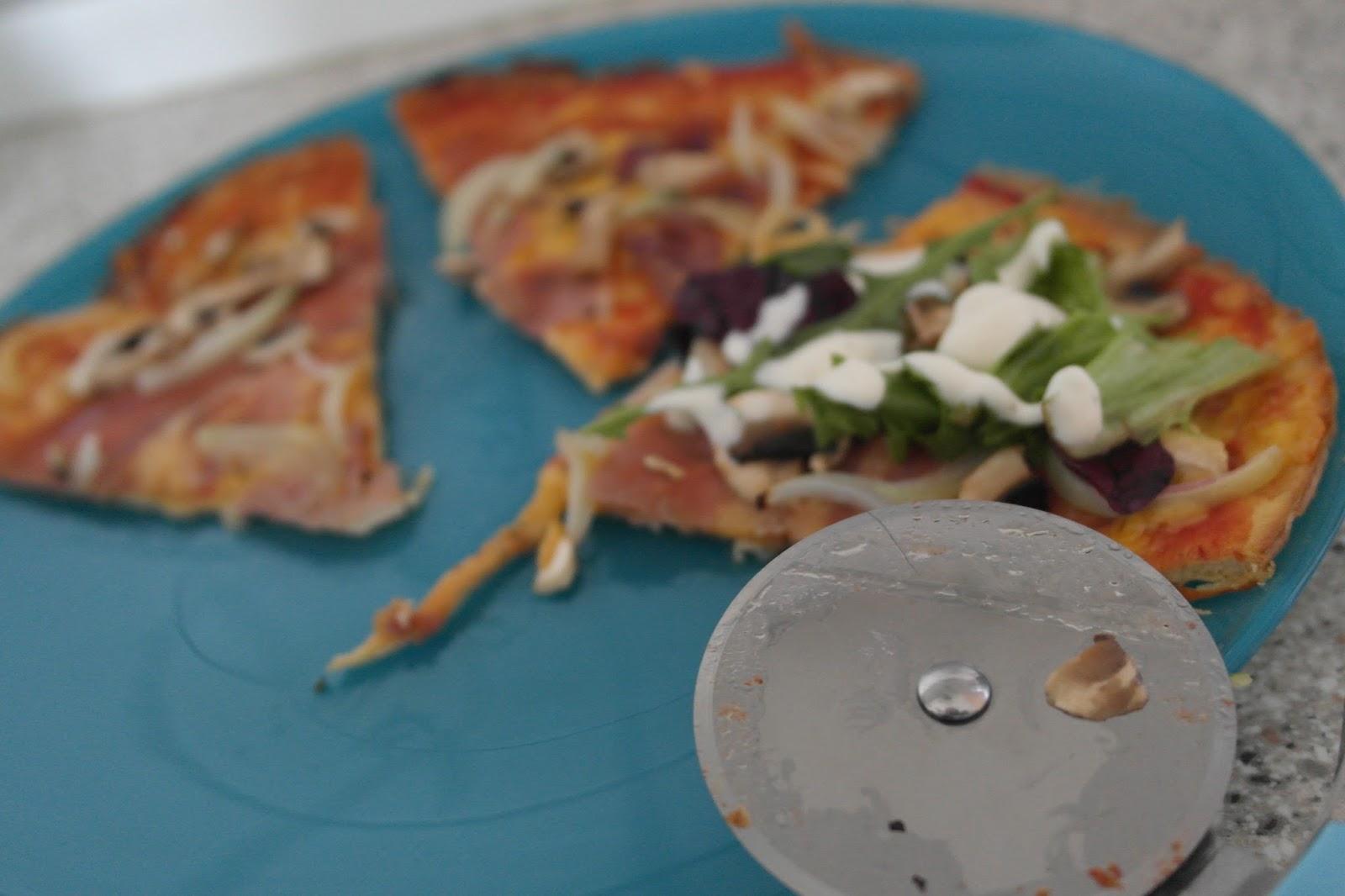 LCHF pizza opskrift