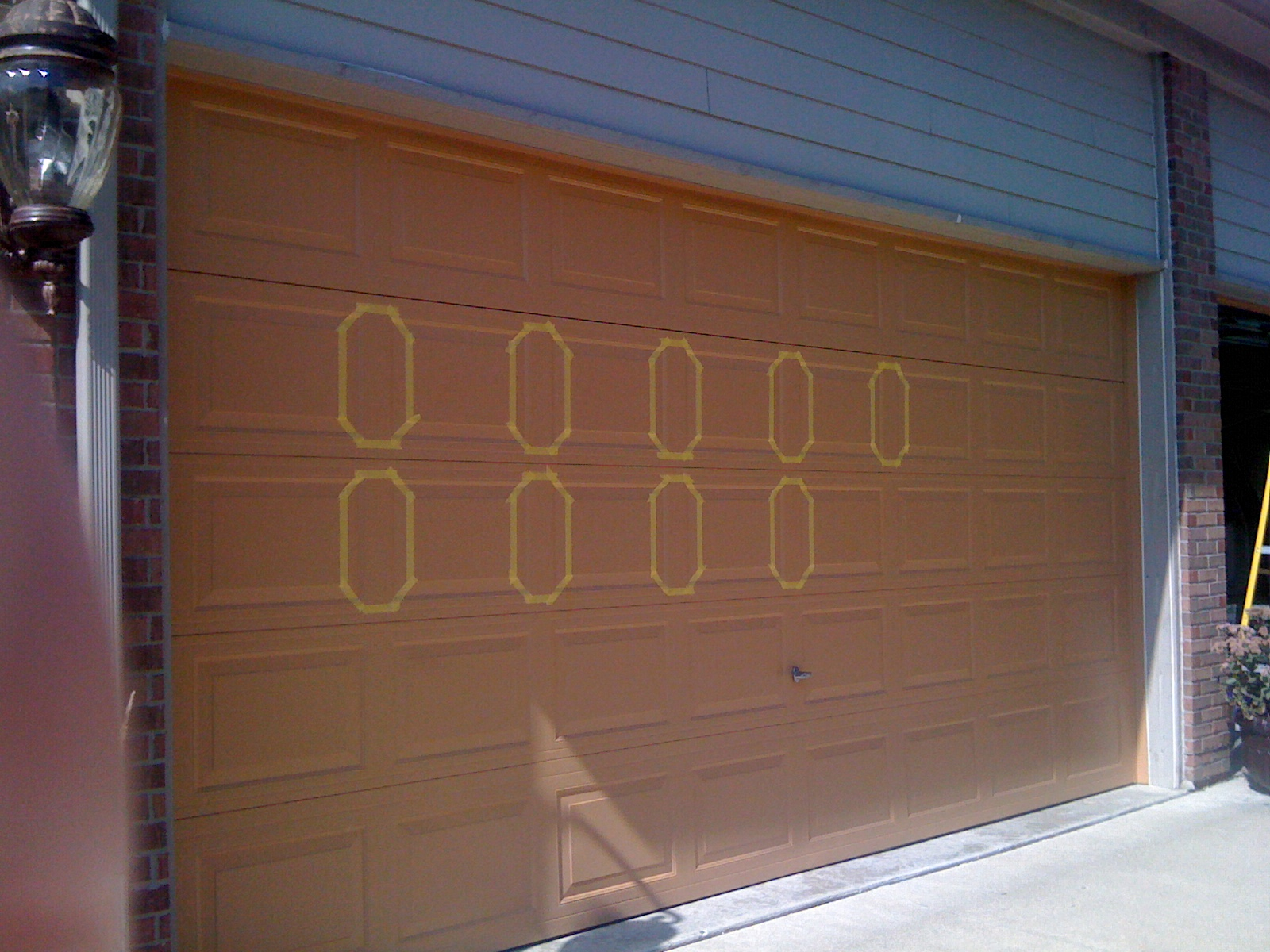 diy faux wood garage doors. Every Spare Moment Diy Faux Wood Garage Doors