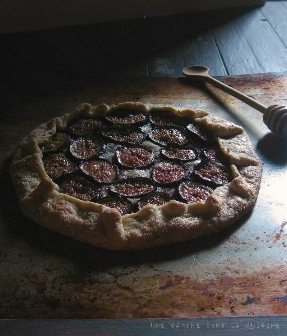 Fig Galette | une gamine dans la cuisine