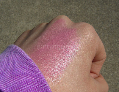 hard candy living doll blush swatches