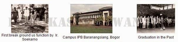 TENTANG IPB: SEJARAH INSTITUT PERTANIAN BOGOR
