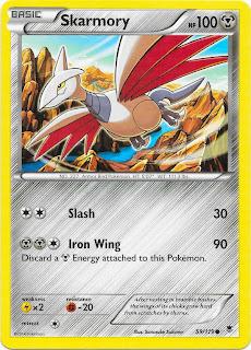 Skarmory Phantom Forces Pokemon Card