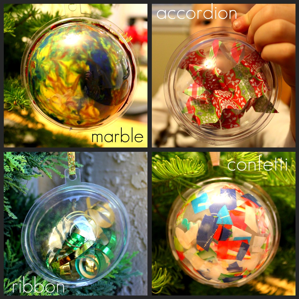 Toddler approved 4 ways to decorate a plastic ornament for How to design a christmas ornament