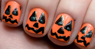 Halloween 2013 Nail Design, Part 2