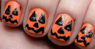 Halloween 2013, Diseño de Uñas, parte 2
