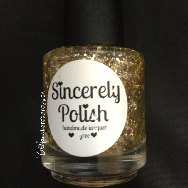 don't touch my pot of gold nail polish by sincerely polish