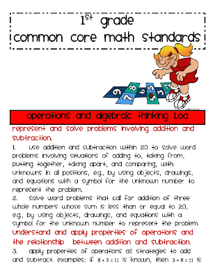 Common Core Math Worksheets First Grade 1st grade math common core